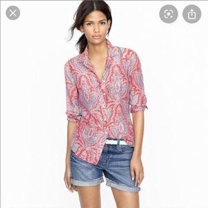 J crew the perfect shirt